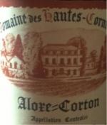 1985 Domaine des Hautes Cornières Aloxe-Corton
